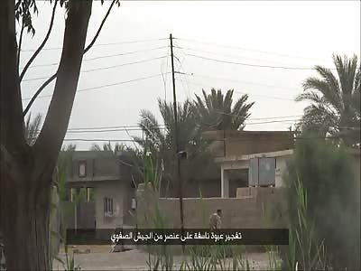 Iraqi Soldier Pulverized
