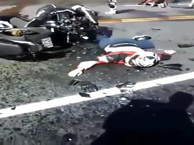 Accident Motorbike