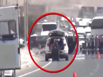 Car bomb detonated with a huge blast in Turkey