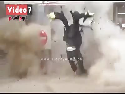 Bomb Disposal Guy Goes Boom