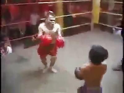 Pelea de enanos