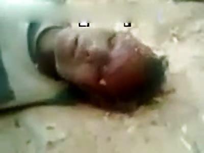 woman beheaded in Africa