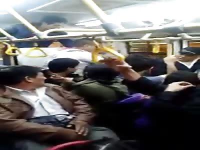 fight on public transport
