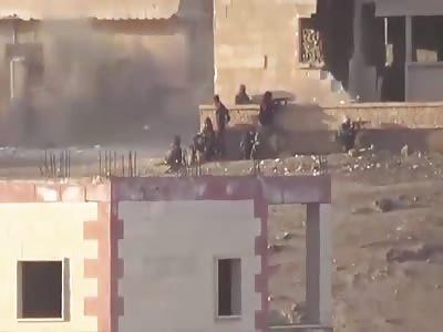 Grenade Dodgeball: Syrian Republican Guard VS ISIS