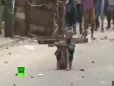 WORLD WAR N - Ebola niggers shot in the street