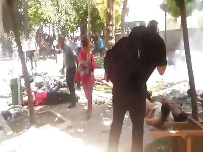 Explosion in Sanliurfa
