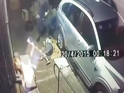 Homeless beaten
