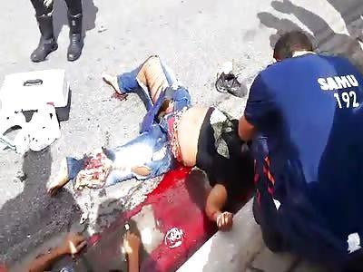 Accident in Brazil BR116