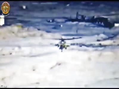 Iraqi Mi-28 Strikes In Anbar and Sulahaddin