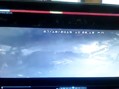Grenade attack in VENEZUELA caught in cctv