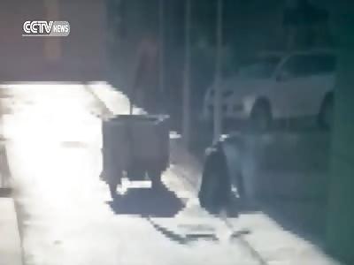 Exploding Manhole Kills Two in China