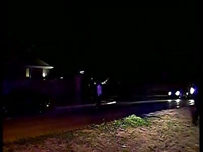 Saginaw (Texas) Police Dash-Cam Video of Fatal Shooting