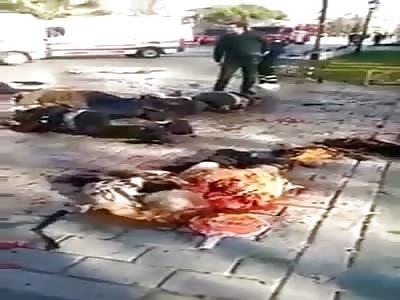 Istanbul Blast Killed 10 Injuring Several Aftermath