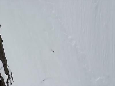 Female Skier Of The Year Tumbles Down Alaskan Mountain