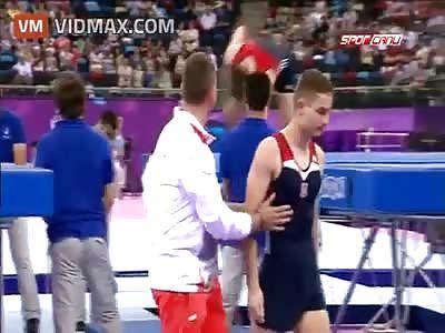 Volunteer saves the life of an athlete at European Games in Baku 2015