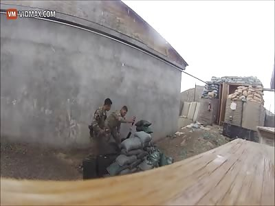 Mortar Fail In Afghanistan