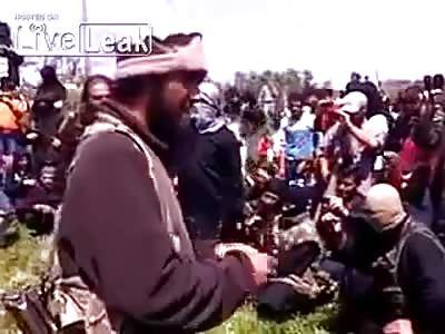 Syrian rebels beheads bishop François Murad.