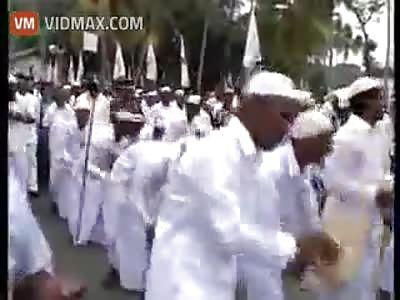 Bomb Blast Caught On Camera In Sri Lanka