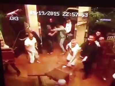 Gypsy Mafia brawl