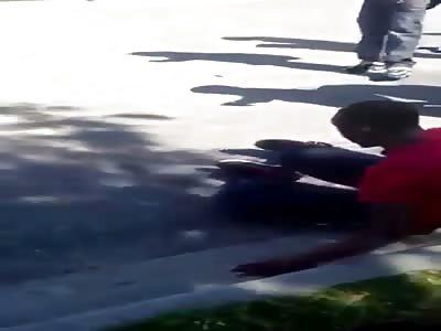 Two Black Dudes Duke It Out